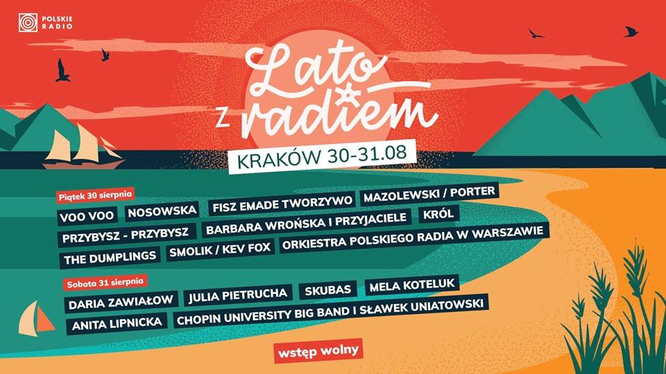 lato z radiem w Krakowie