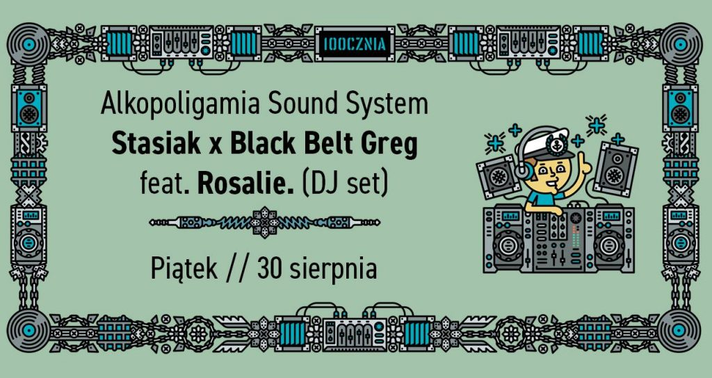 Alkopoligamia Sound System // feat. Rosalie. DJ set