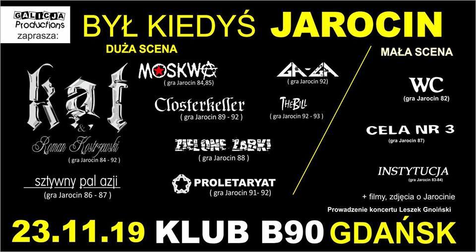 Był Kiedyś Jarocin 23.11.2019 Gdańsk B90