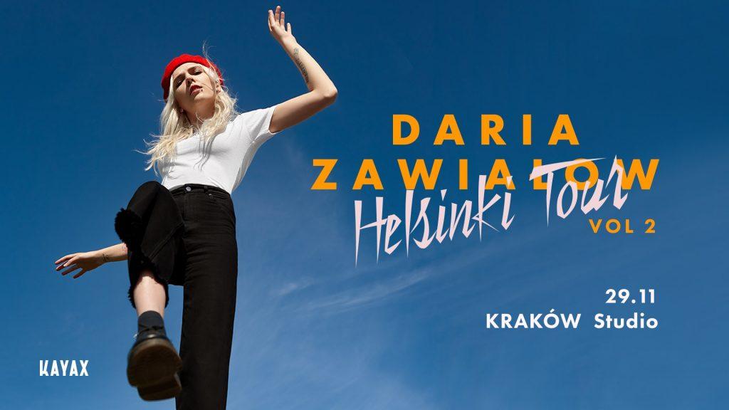 Daria Zawiałow Helsinki Tour vol2 - Kraków 29.11