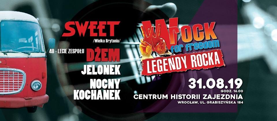 Festiwal wROCK for Freedom na zakończenie wakacji we Wrocławiu!