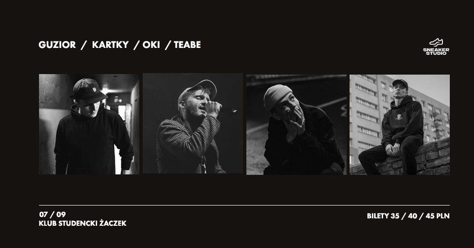 Guzior Kartky Oki Teabe w Krakowie! Klub Żaczek 07.09