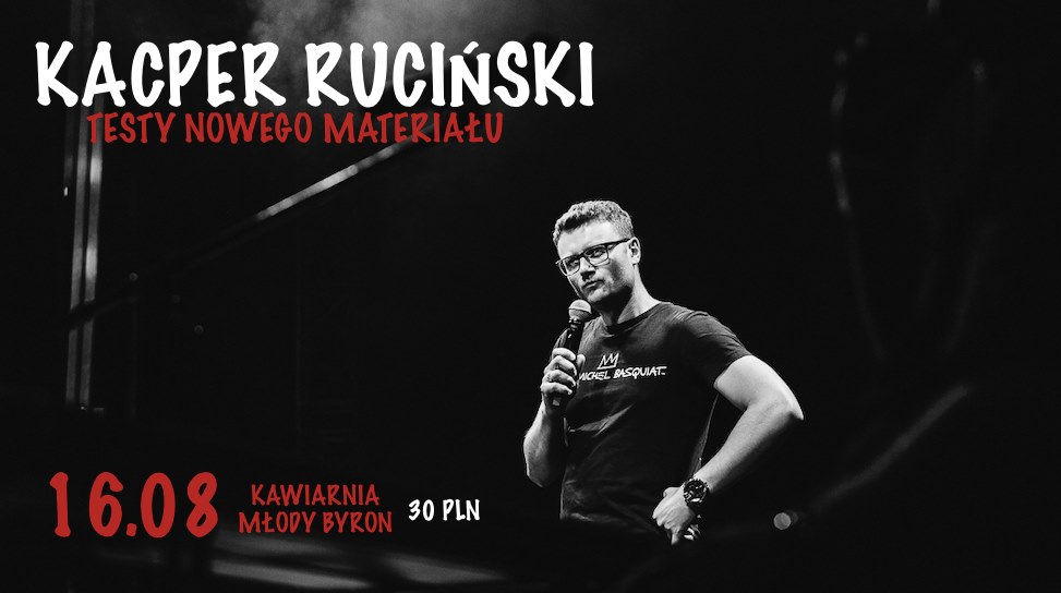 Kacper Ruciński - Testy Nowego Materiału! Sopot
