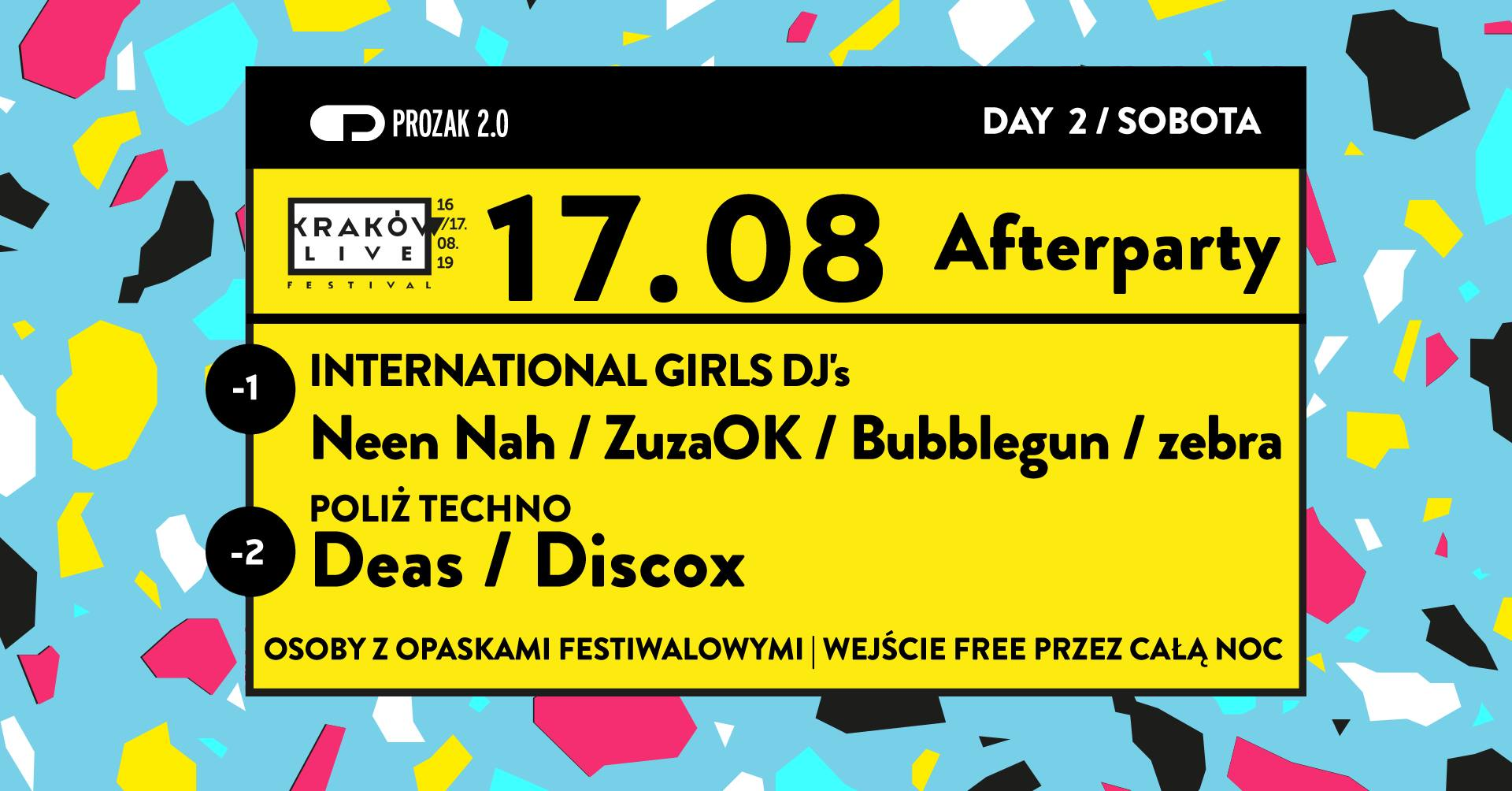 Kraków Live Festival 2019 Official Afterparty Day 2