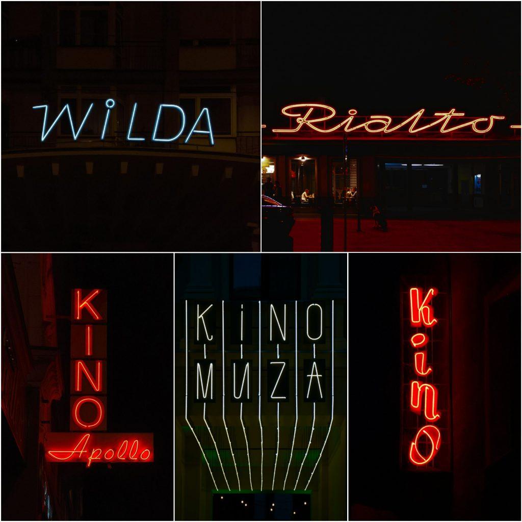 neony w poznaniu