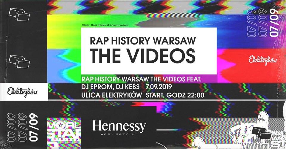 Rap History Warsaw The Videos by Elektryków x Hennessy