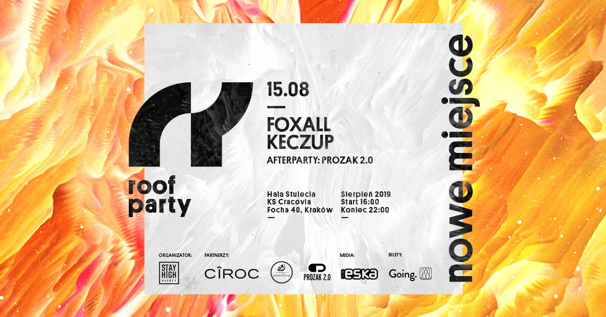 Roof Party x Foxall x nowe miejsce!