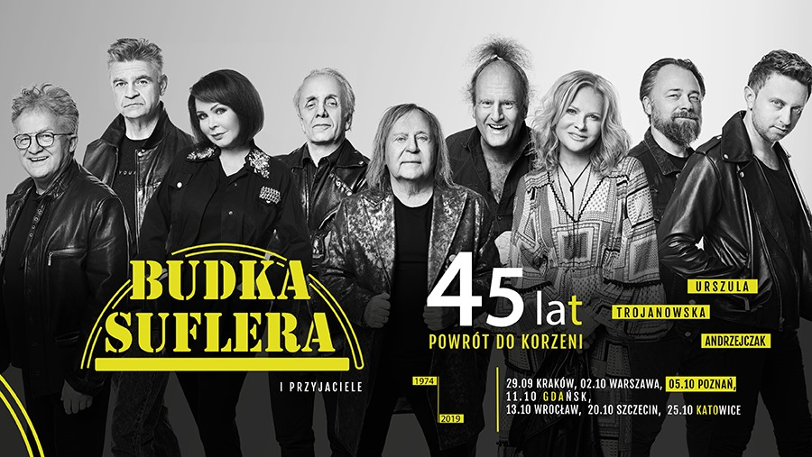 """Budka Suflera """"45 lat! Powrót do korzeni"""" - Kraków"""