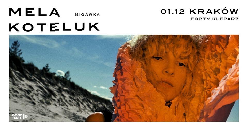 Mela Koteluk Migawka Kraków 1.12.2019