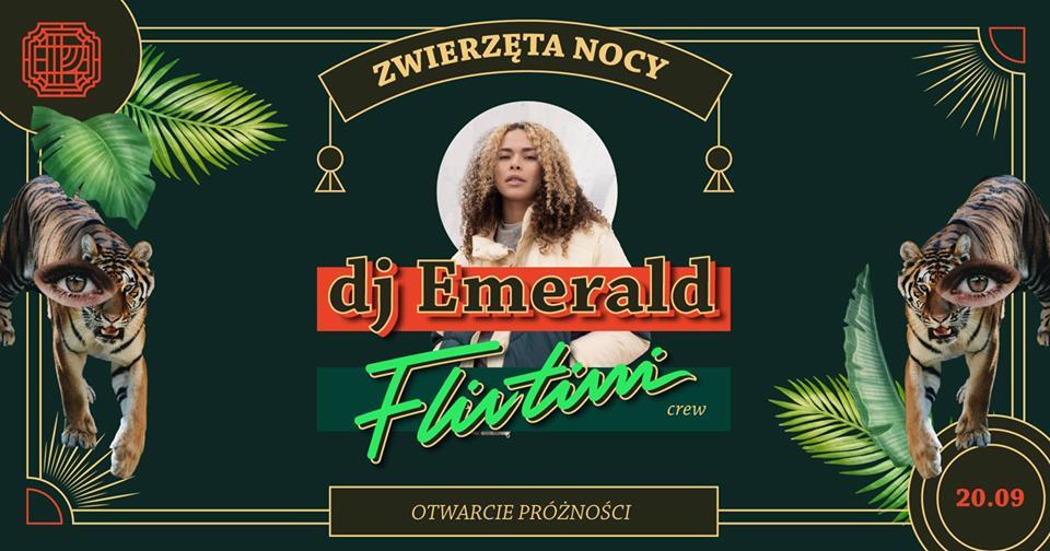 Otwarcie Próżności Flirtini Crew Emerald Rinse FM Londyn
