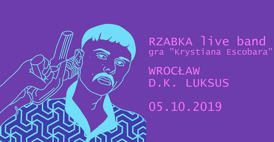 Rzabka live band gra Krystiana Escobara Wrocław