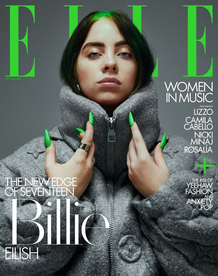 billie eilish elle magazine