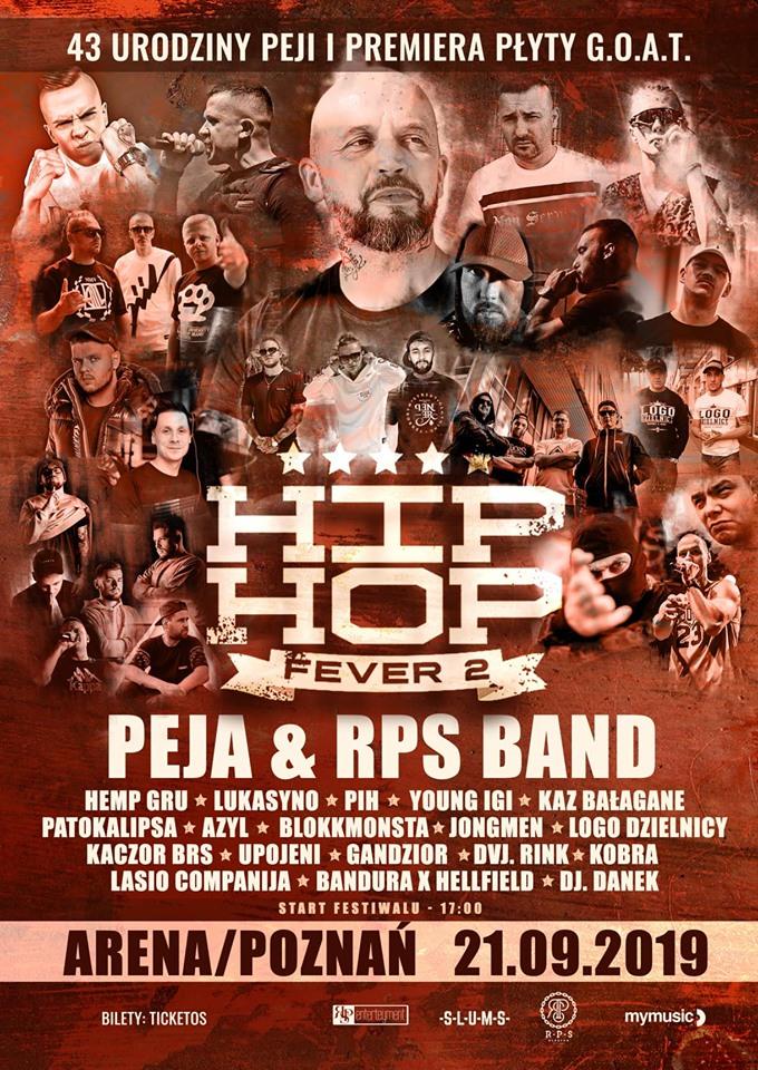 hip-hop fever 2 line-up płomień 81