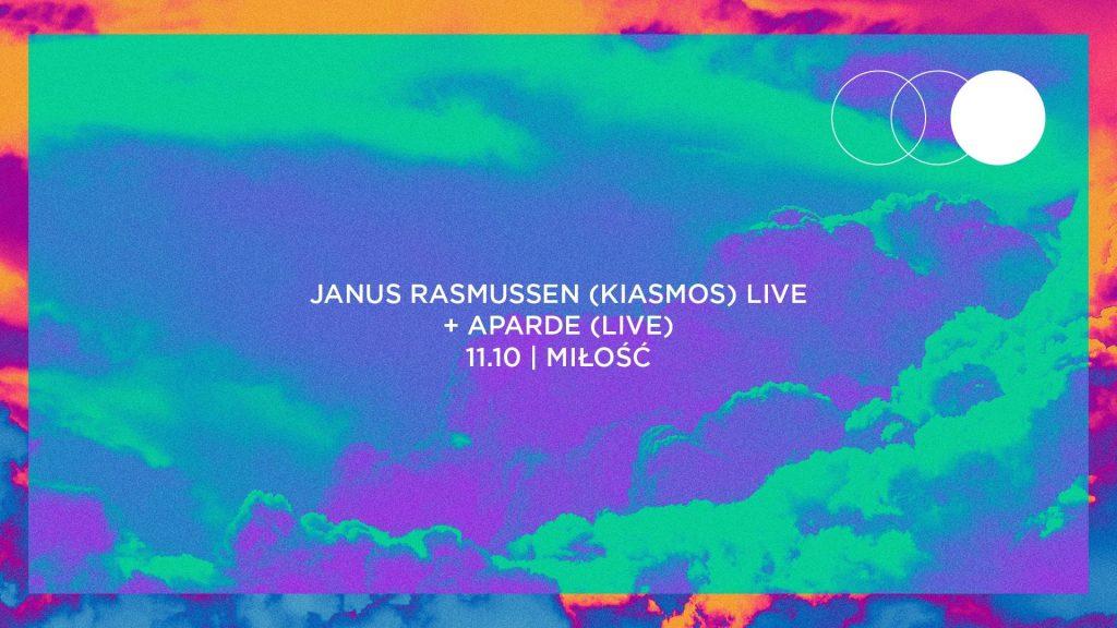 Janus Rasmussen (Kiasmos) + Aparde / 11.10 / Warszawa