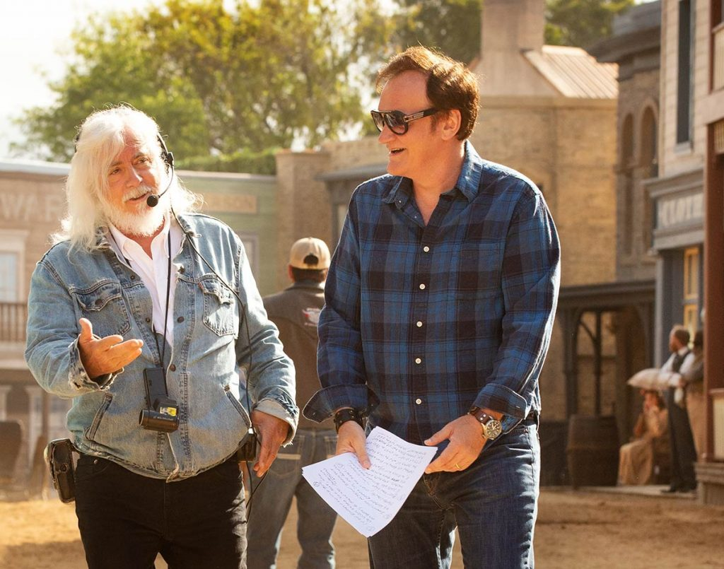 Quentin Tarantino i Robert Richardson w Polsce