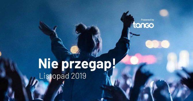 TOP 5: koncerty w listopadzie 2019, których nie możesz przegapić