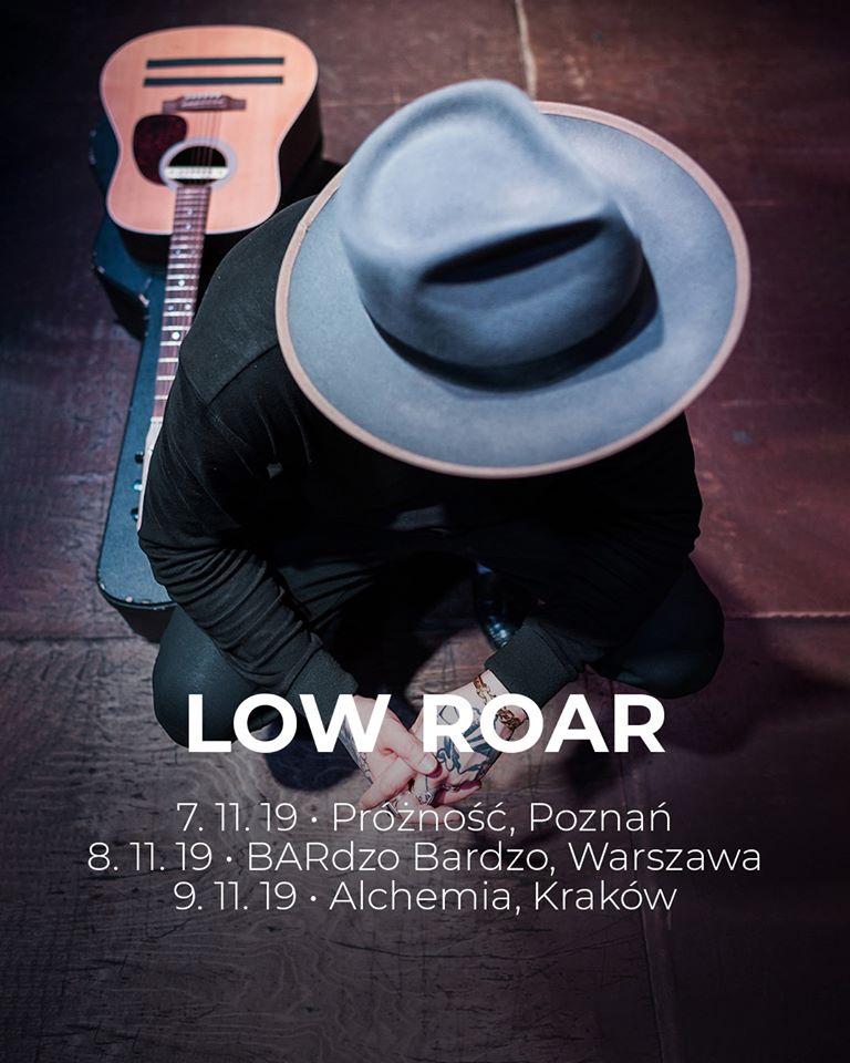 Low Roar na trzech koncertach w Polsce