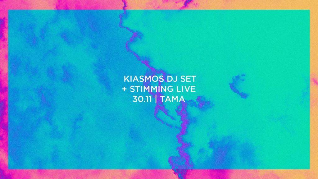 Kiasmos DJ SET x Stimming LIVE / 30.11 / TAMA, Poznań