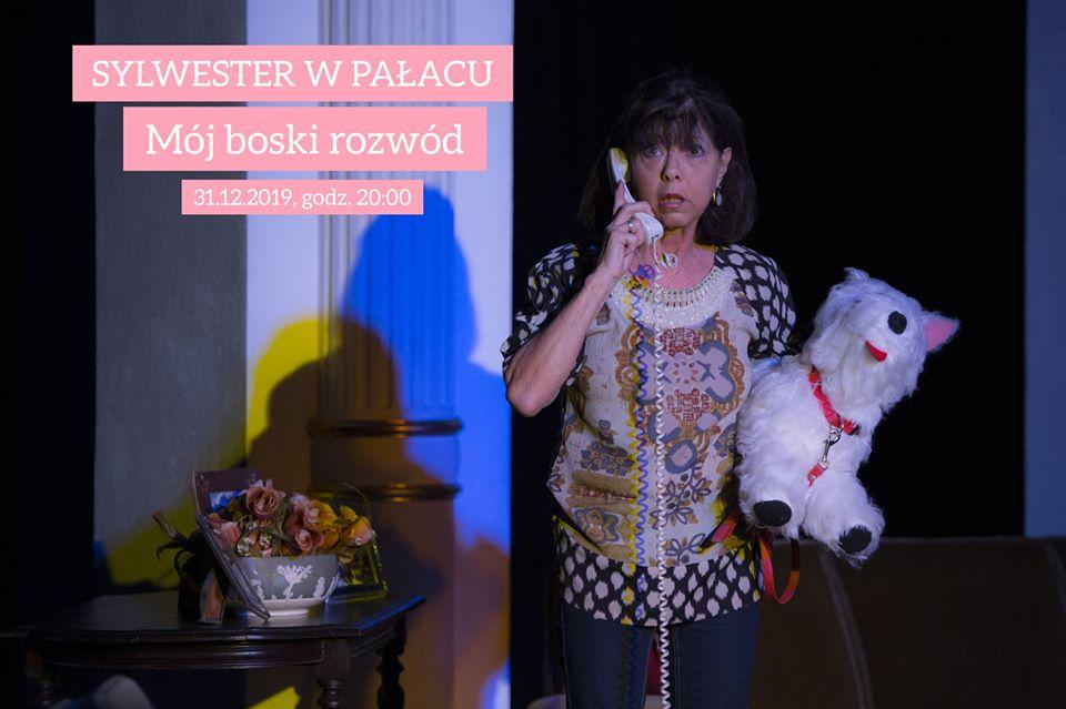 Sylwester w Pałacu: Mój boski rozwód / Teatr Muzyczny w Toruniu