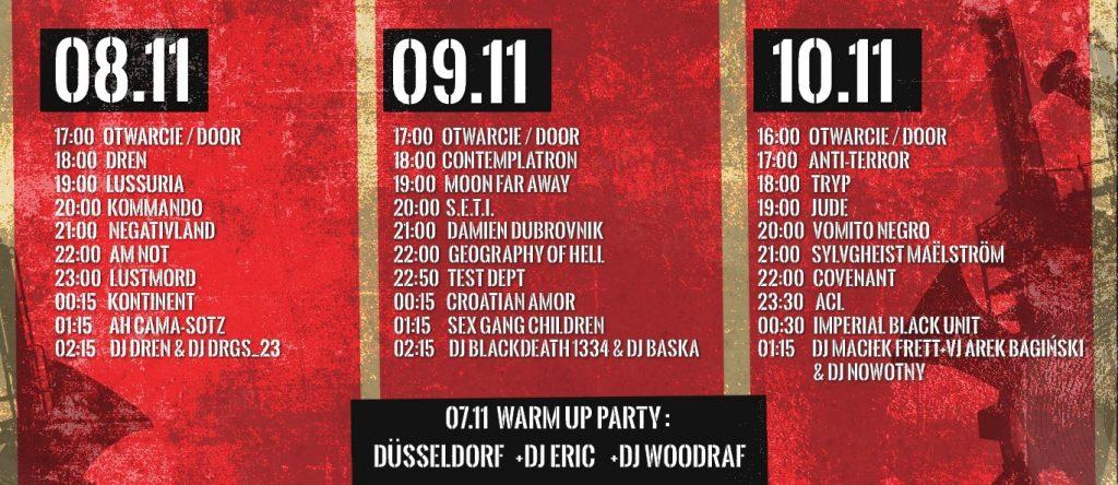 XVIII Wroclaw Industrial Festival 08.11