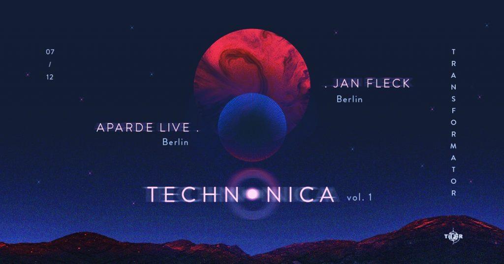 Aparde LIVE & Jan Fleck - Technonica vol. 1