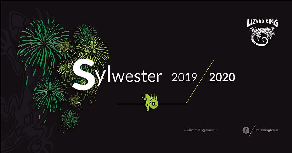 Sylwester 2019/2020 w Lizard King Toruń