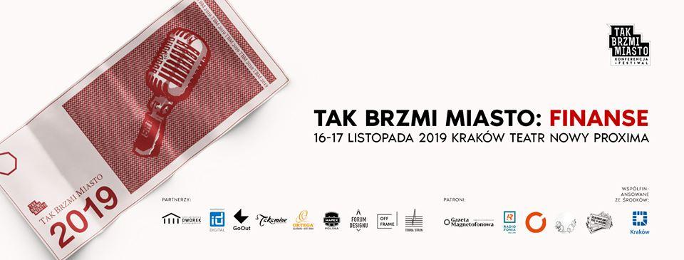 Tak Brzmi Miasto: Konferencja i Festiwal 2019