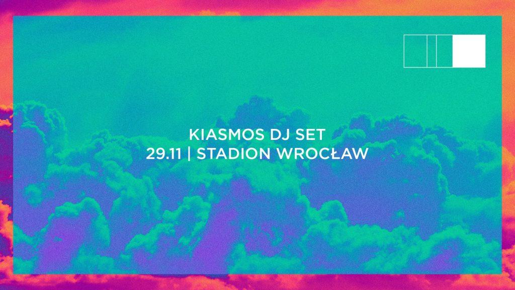 Kiasmos DJ SET / 29.11 / Stadion Wrocław