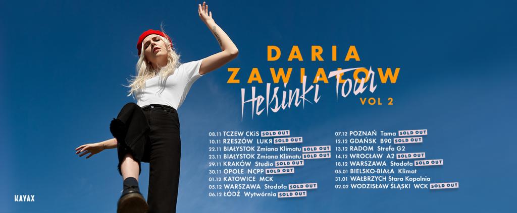Daria Zawiałow - Helsinki Tour vol2