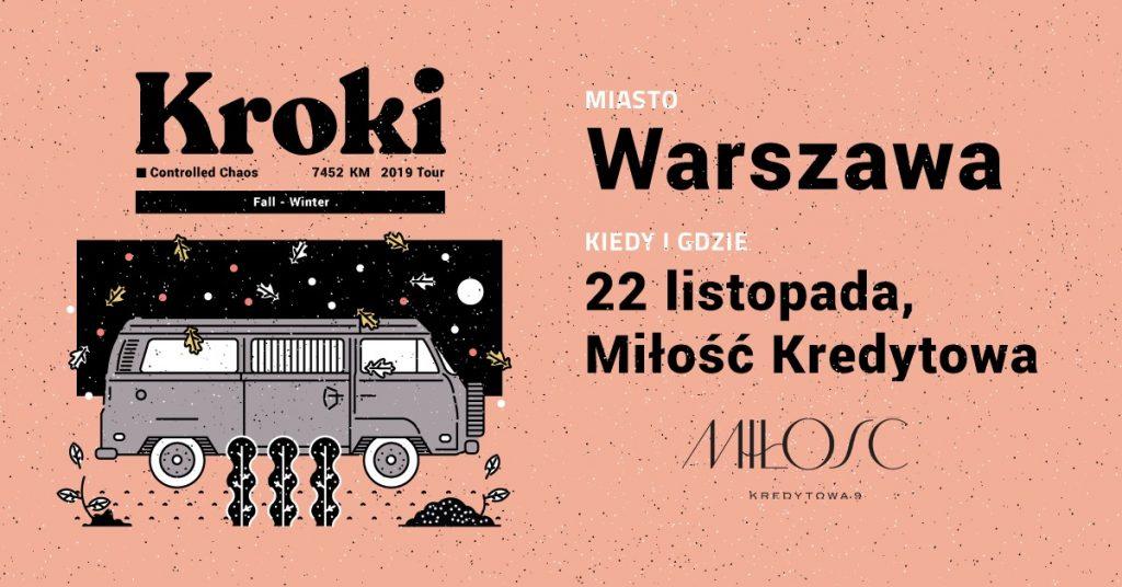 Kroki Warszawa 22.11.2019