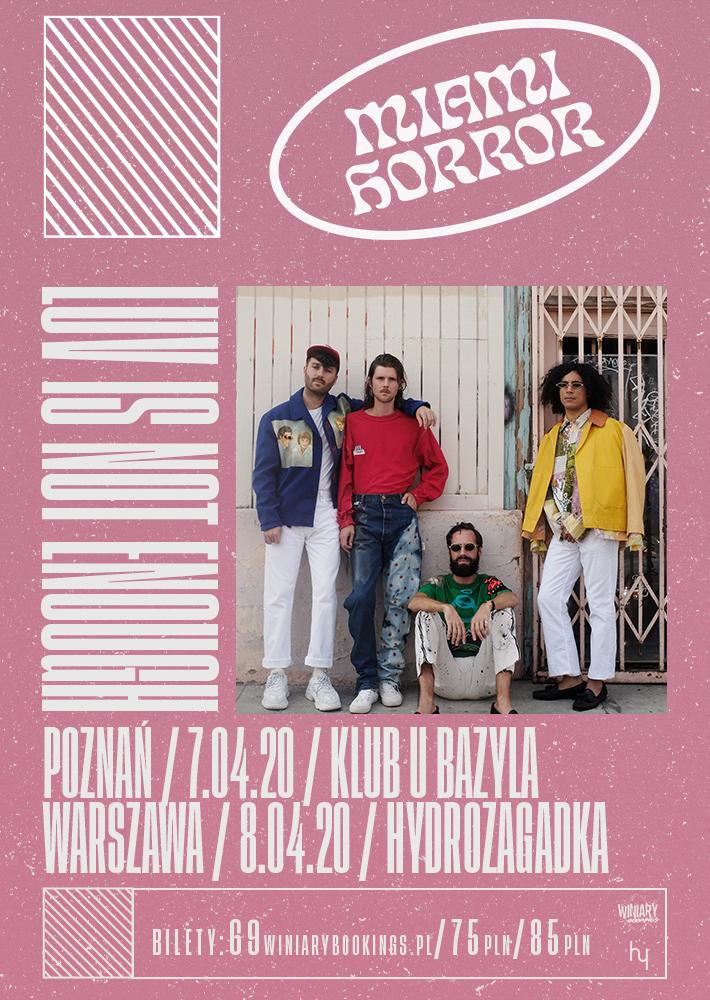 Miami Horror na dwóch koncertach w Polsce