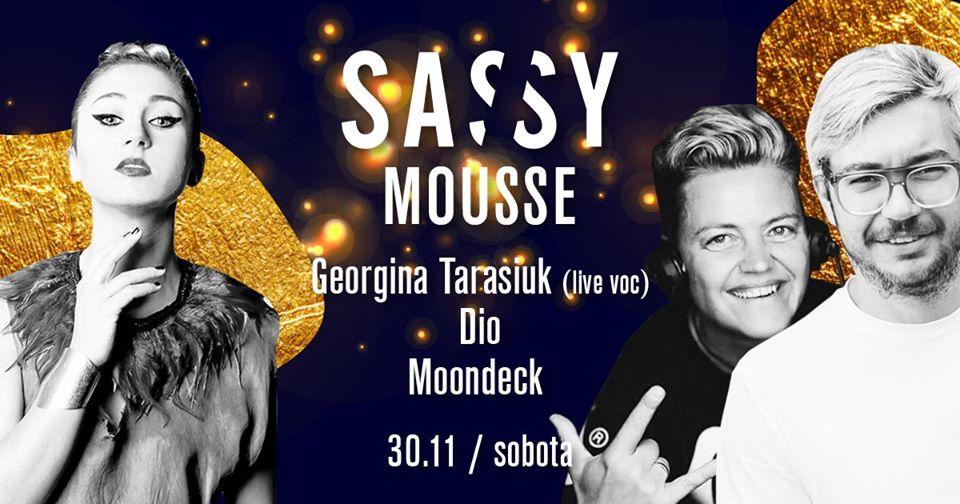SASSY Mousse Georgina Tarasiuk live vocal Moondeck & DIO