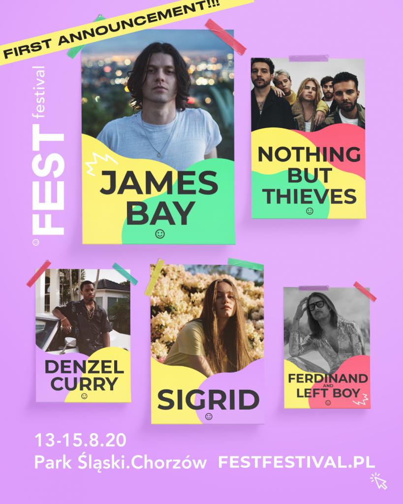 Fest Festival 2020 pierwsze ogłoszenie