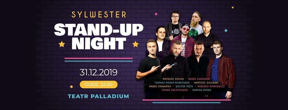 stand-up night sylwester