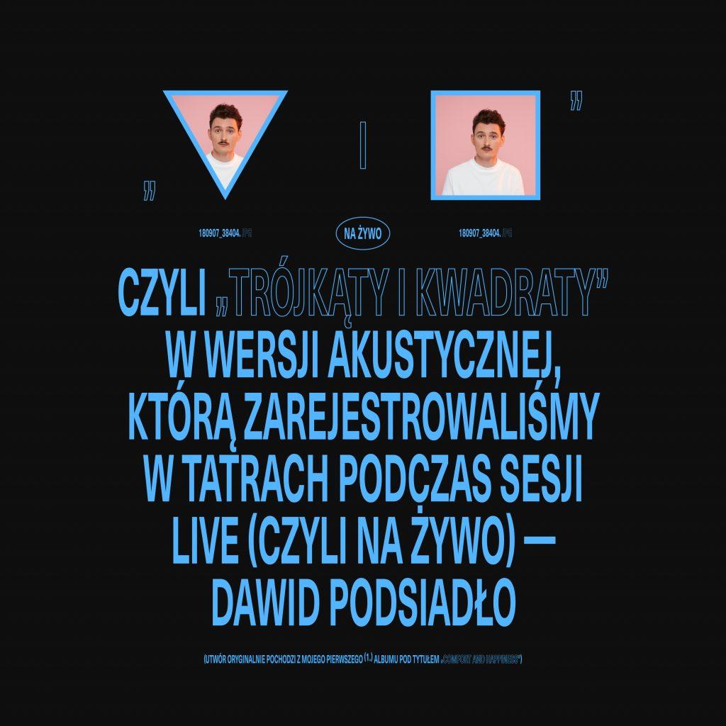 Dawid Podsiadło - Trójkąty i Kwadraty akustycznie