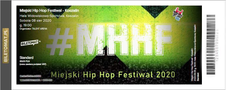 Miejski Hip Hop Festiwal - bilet kolekcjonerski
