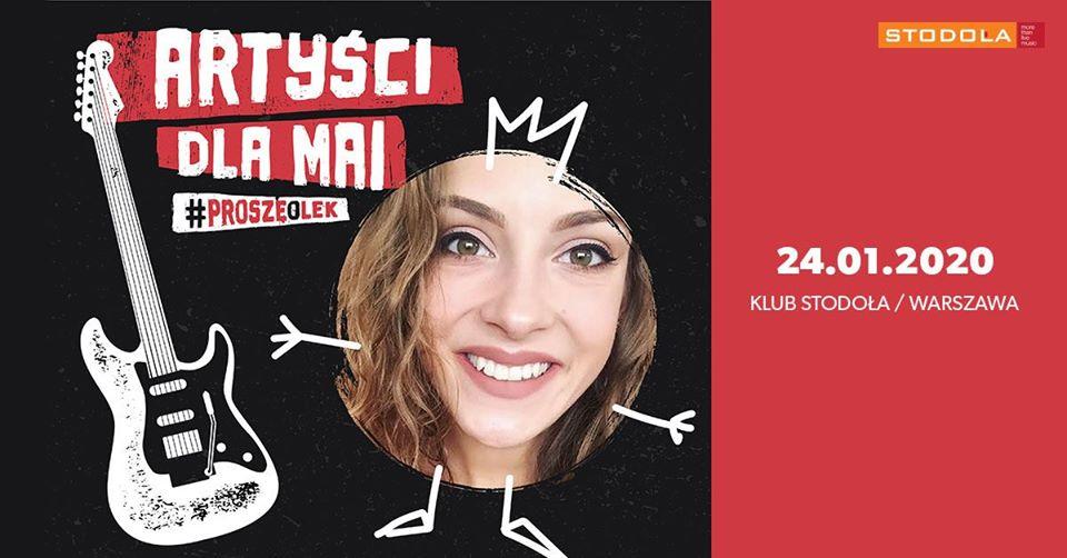 Artyści dla Mai #proszęolek, 24.01.2020, Klub Stodoła