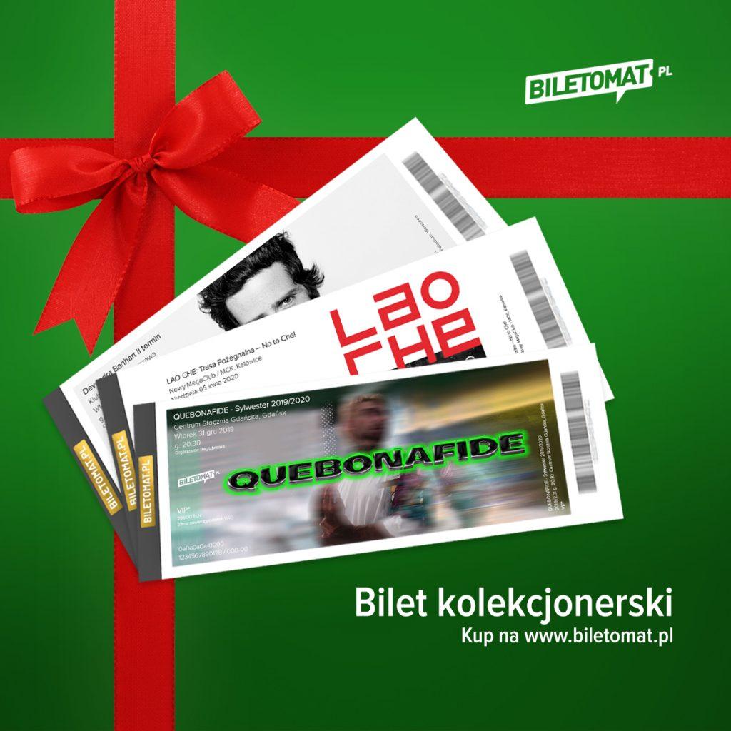 bilety kolekcjonerskie - pomysł na świąteczny prezent