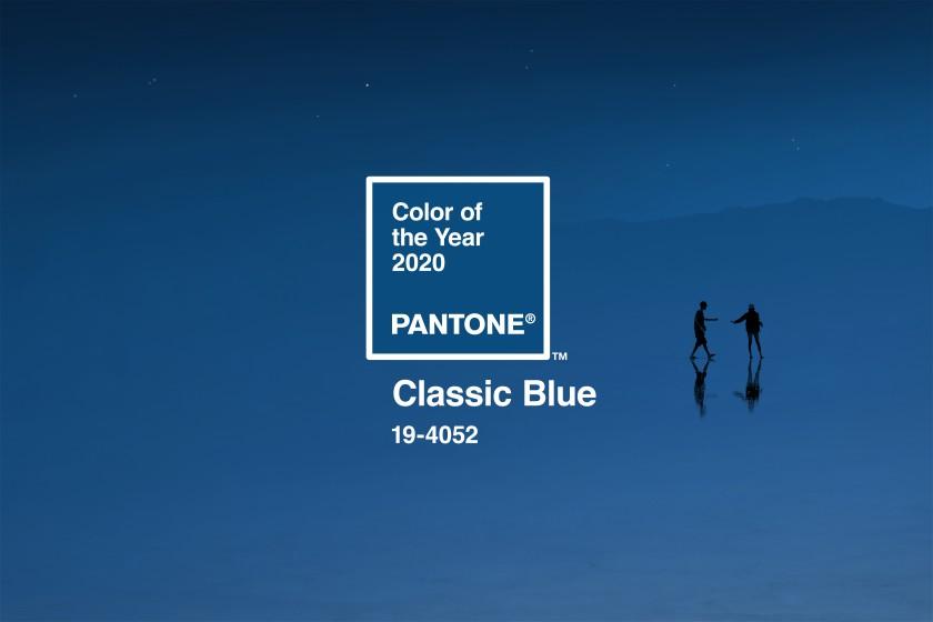 classic blue - kolor roku 2020 wg pantone