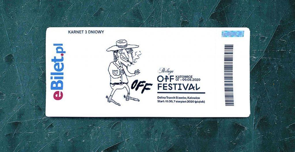 Mac DeMarco zaprojektował bilet na OFF Festival 2020