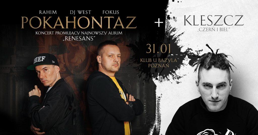 Pokahontaz Rahim x Fokus / Kleszcz / Poznań
