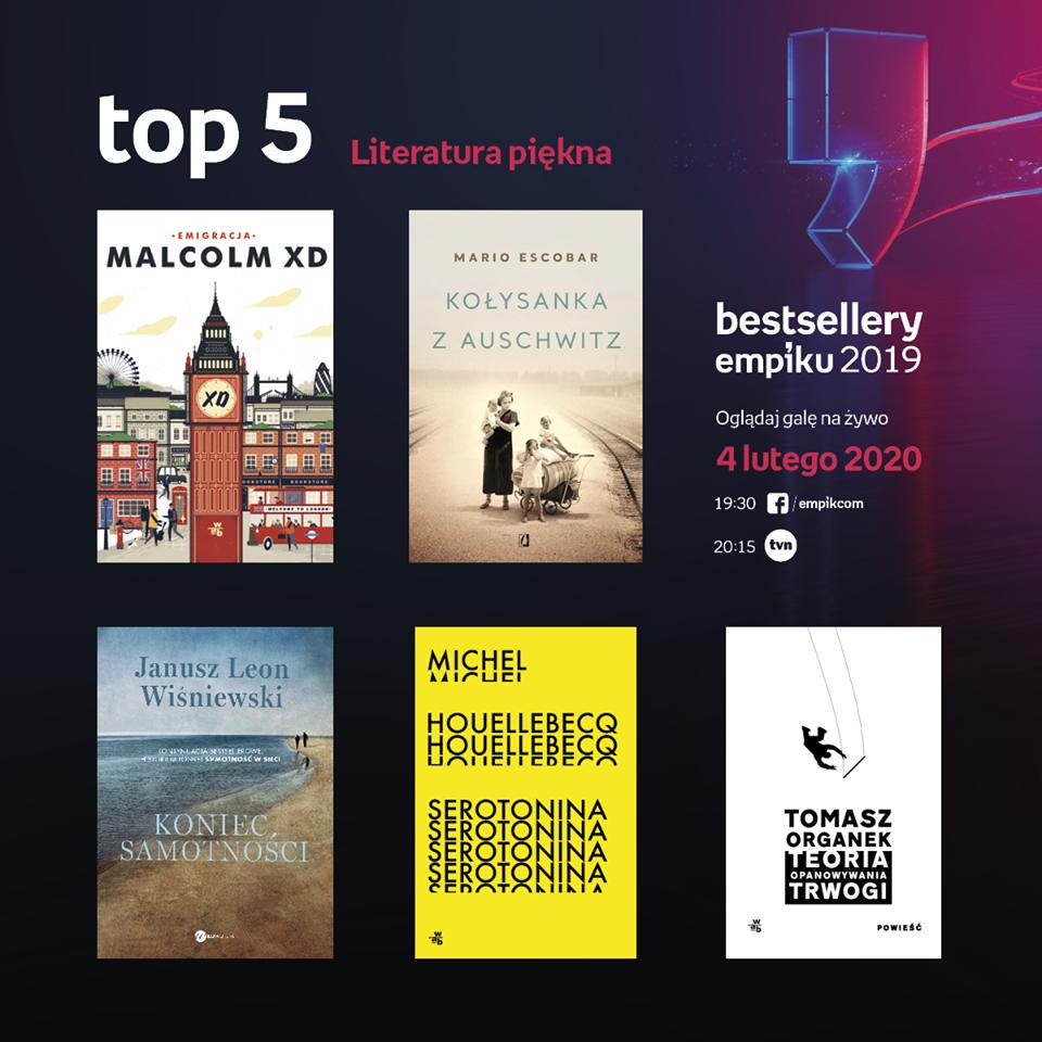 bestsellery empiku 2019