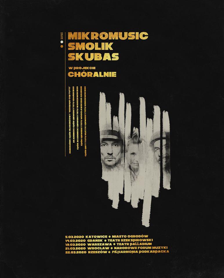 Chóralnie: Mikromusic, Smolik, Skubas, Chór Akademicki UW