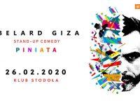 "Abelard Giza / Program ""Piniata"", 26.02.2020, Klub Stodoła"