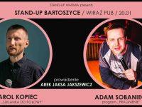 Stand-up Bartoszyce / Karol Kopiec & Adam Sobaniec