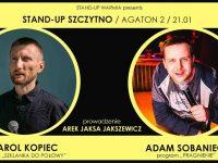 Stand-up Szczytno / Karol Kopiec & Adam Sobaniec & Jaksa