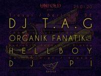 Unfold press DJ TAG