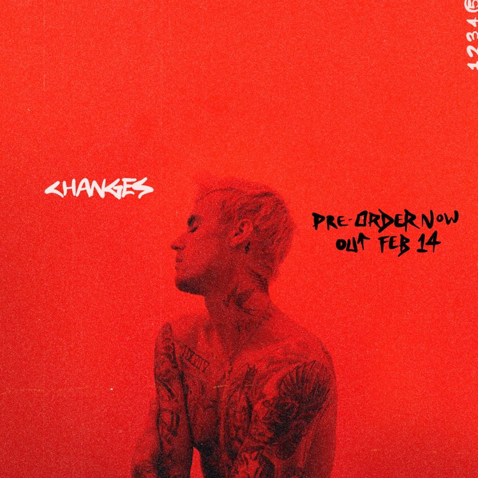 Justin Bieber - nowa płyta CHanges ukaże się 14 lutego