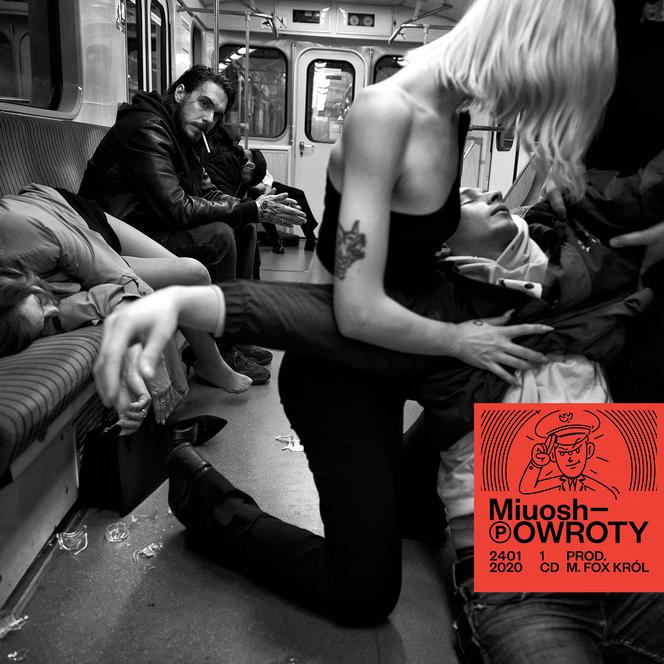 Miuosh - Powroty - okładka płyty