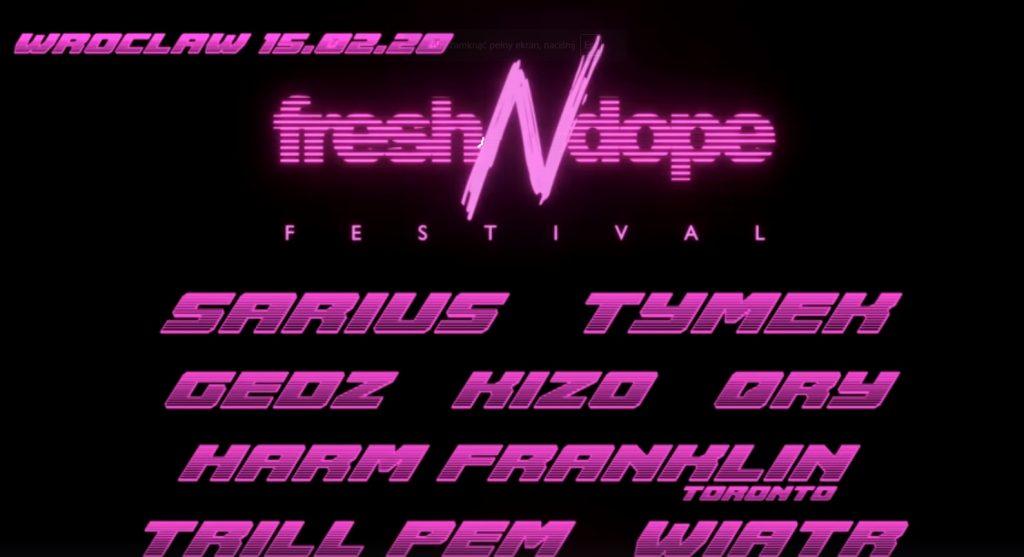 Fresh N Dope Festival Wrocław 2020